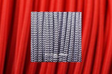 cavo stoffa colorato 2x075mm