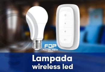 lampada wireless led