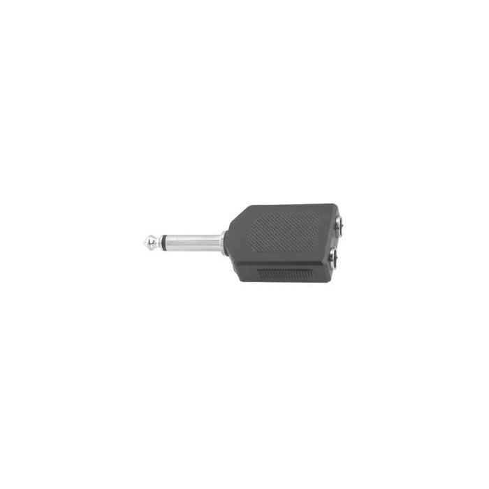 ADAPTATEUR Audio PLUG j ST.6,3MM.2 JS3.5 SOCKET