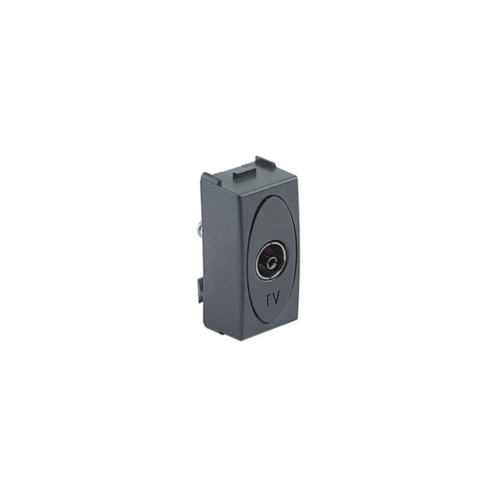 MODE TV socket 9.5mm GRAY pass./final
