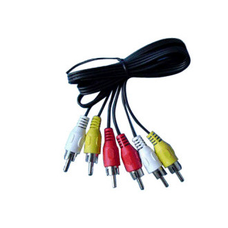KABEL RCA RCA 3SP VIDEO / AUDIO 5 MT 50.0002125