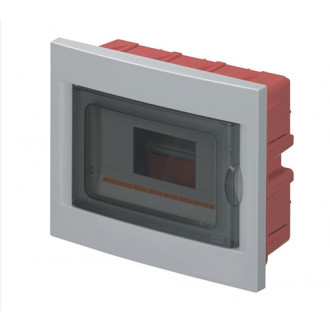 WALL MOUNTED CENTRAL 8 MOD. DIN C / PORTA 63008 PLADER