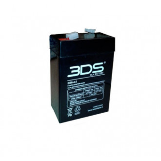 RECHARGEABLE BATTERY ACCUMULATOR lead 6V 4AH NI 02090054