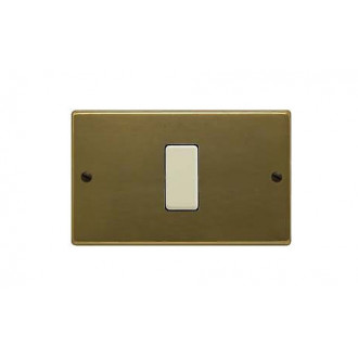 PLACCA ALLUMINIO BRONZO 1FORO MAGIC  351/1