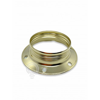 REPLACEMENT METAL RING HOUSING E27 BRASS