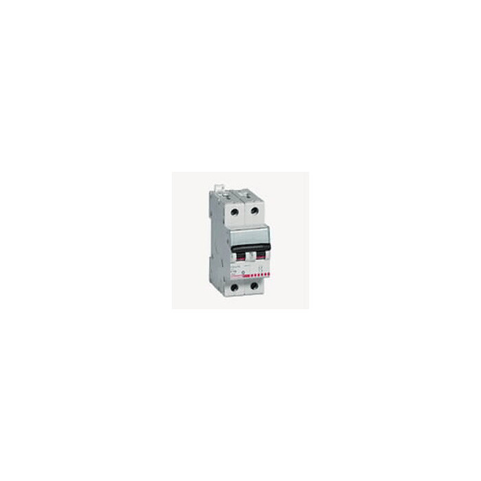 AUTOMATIC MAGNETOTHERMIC SWITCH 2P 10A F82 / 10 6000K TICINO