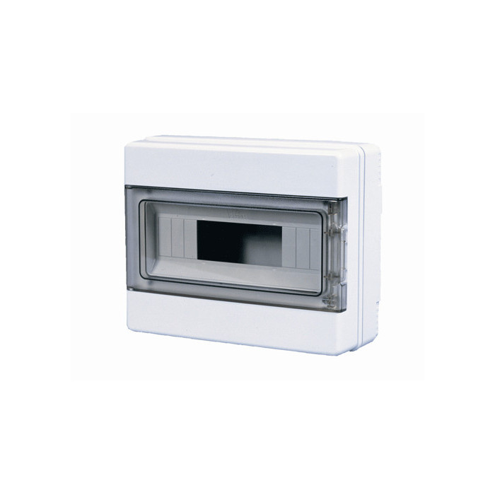 WALL MOUNTING CENTER IP65 8M DIN 62008 PLADER