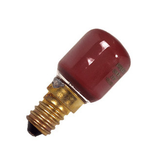 Incandescent lamp Small red...