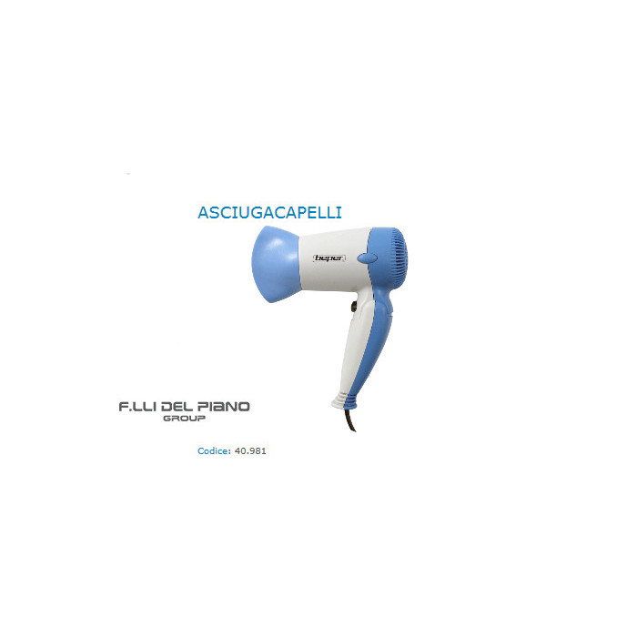 Travel hairdryer 1200W...