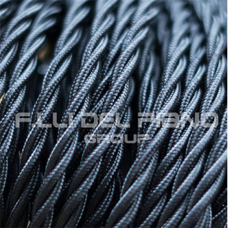 Electric cable braided silk...