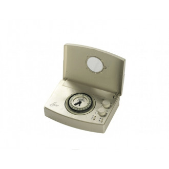 Thermostat électronique programmable Boiler Analogue Daily White horloge blanche