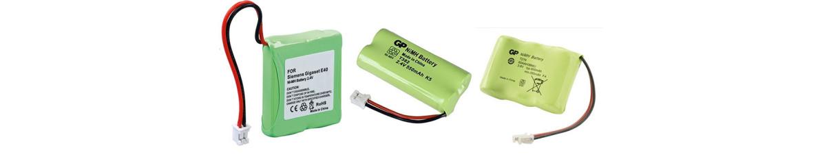Batterie per Coordless e telefoni portatili