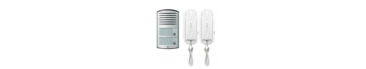 Türkommunikations- Druckknopf elektrische