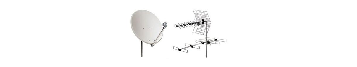 Antenne digitale terrestre e satellitare per tv