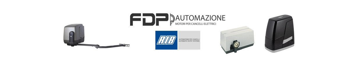 Assortimento e vendita prodotti per l'automazione RIB